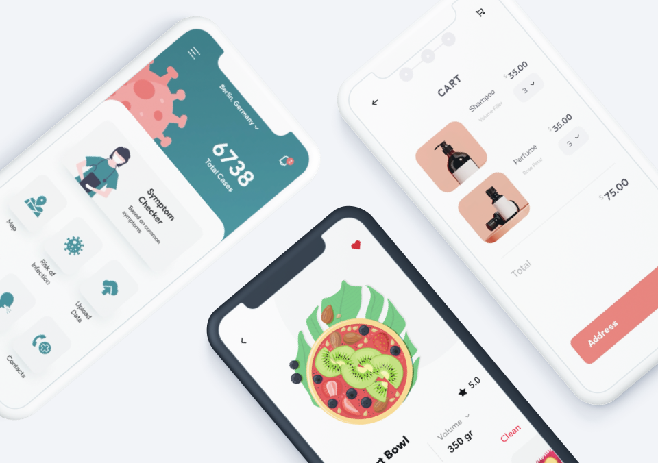 Top 5 Mobile Interaction Designs of June 2020
