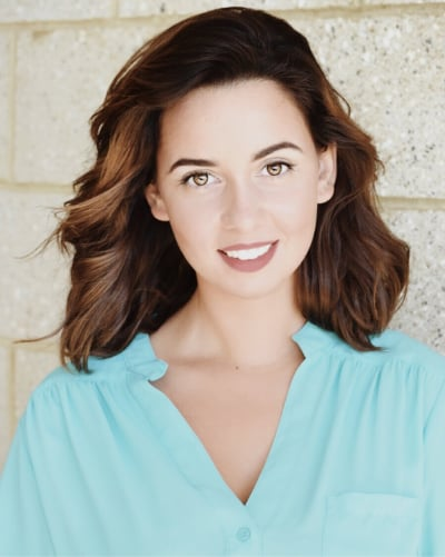 A headshot of brand manager Natasha Teymourian.