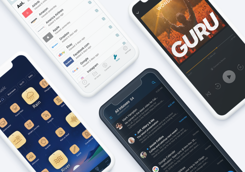 Top 5 Mobile App Designs of Fall 2020