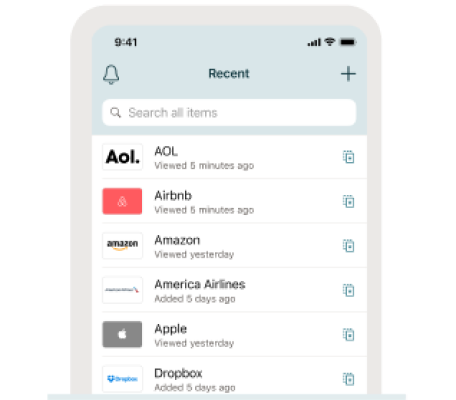 A photo of Dashlane, Top 5 Mobile App Designs of Fall 2020