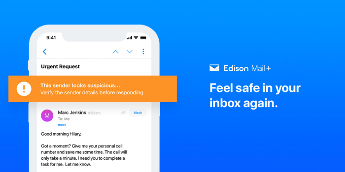 A photo of Edison Mail, Top 5 Mobile App Designs of Fall 2020