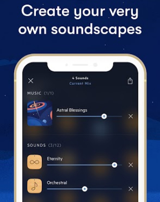 A photo of Relax Melodies, Top 5 Mobile App Designs of Fall 2020