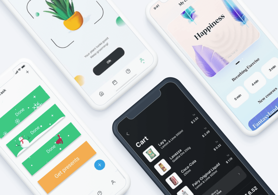 Top 5 Mobile Interaction Designs of December 2020