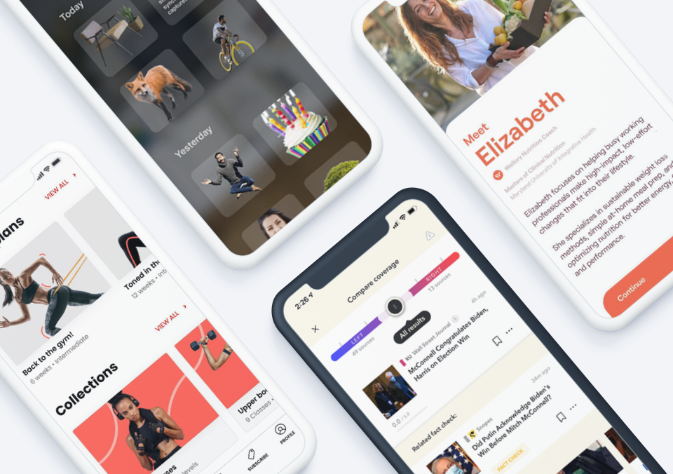 Top 5 Mobile App Designs of Winter 2021