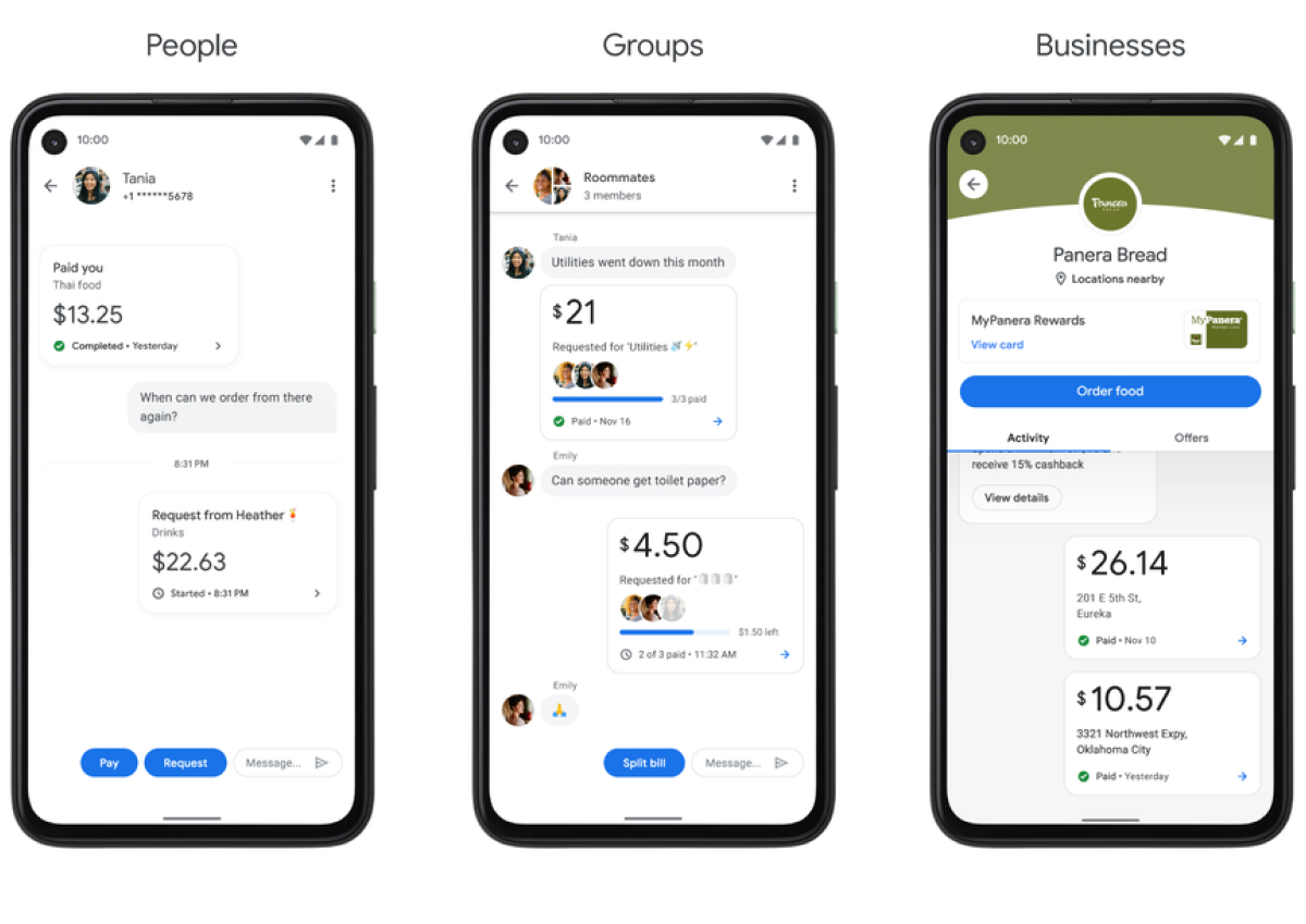 A photo of Google Pay, Top 5 Mobile App Designs of Winter 2021