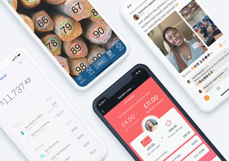 Top 5 Mobile App Designs of Spring 2021