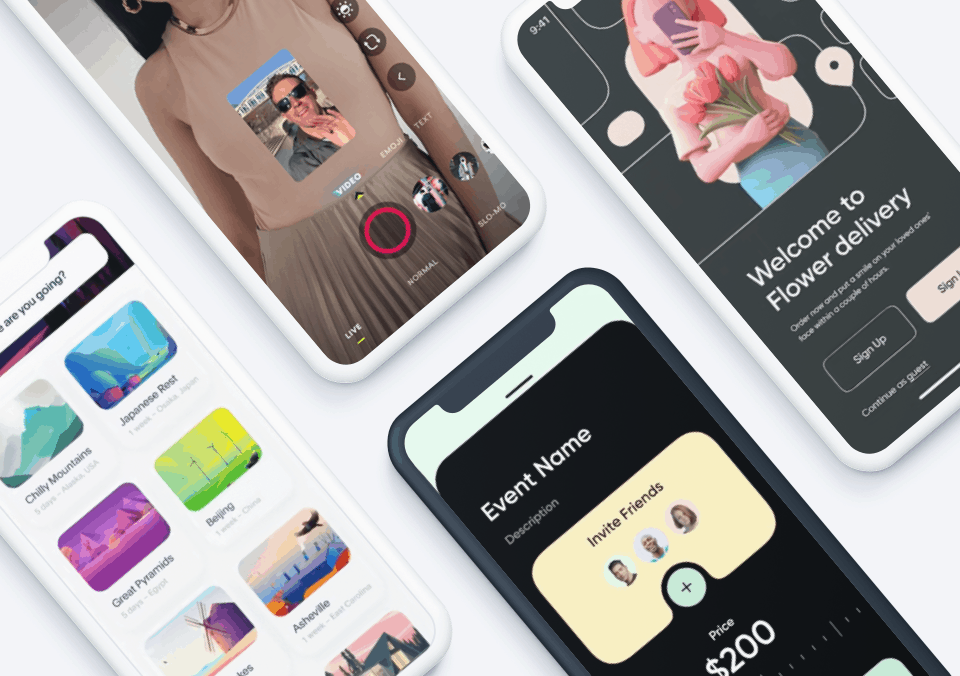 Top 5 Mobile Interaction Designs of June 2021
