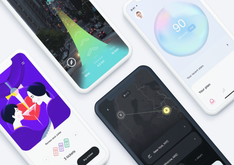 Top 5 Mobile Interaction Designs of July 2021