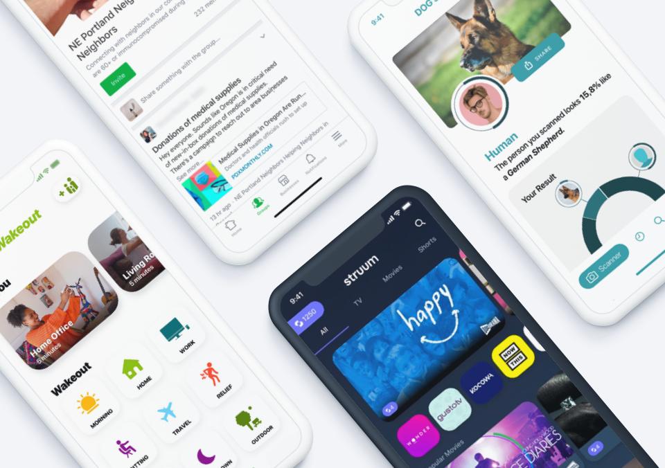 Top 5 Mobile App Designs of Summer 2021