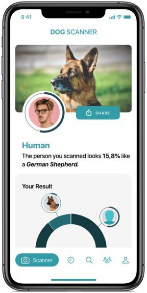 A photo of Dog Scanner, Top 5 Mobile App Designs of Summer 2021
