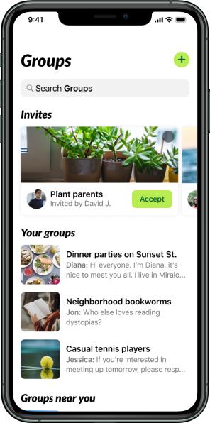 A photo of Nextdoor, Top 5 Mobile App Designs of Summer 2021