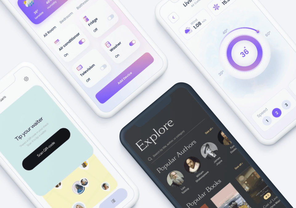 Top 5 Mobile Interaction Designs of August 2021