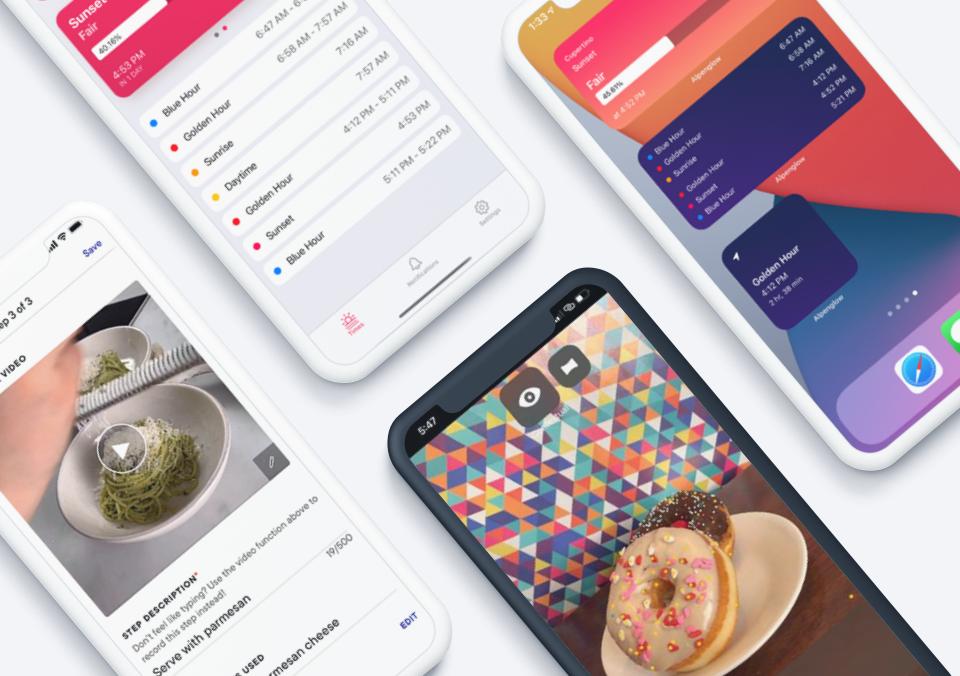 Top 5 Mobile App Designs of Fall 2021
