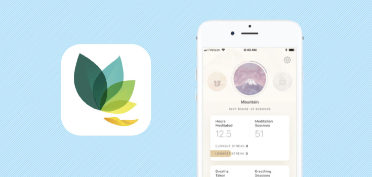 A photo of Oak Meditation, Top 5 Mobile App Designs of Fall 2021